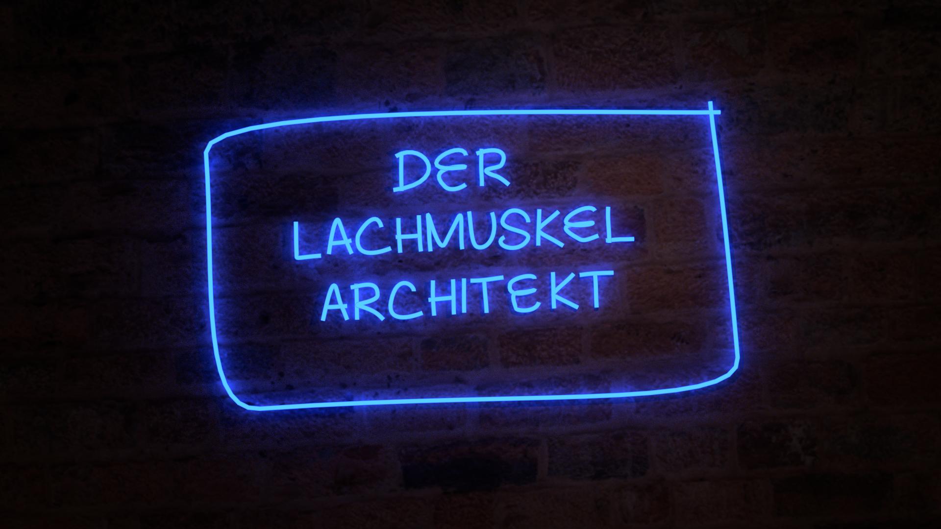 Der Lachmuskel Architekt Logo