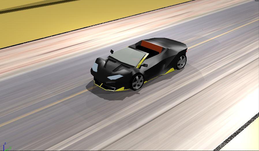 Lamborghini Centenario Low Poly