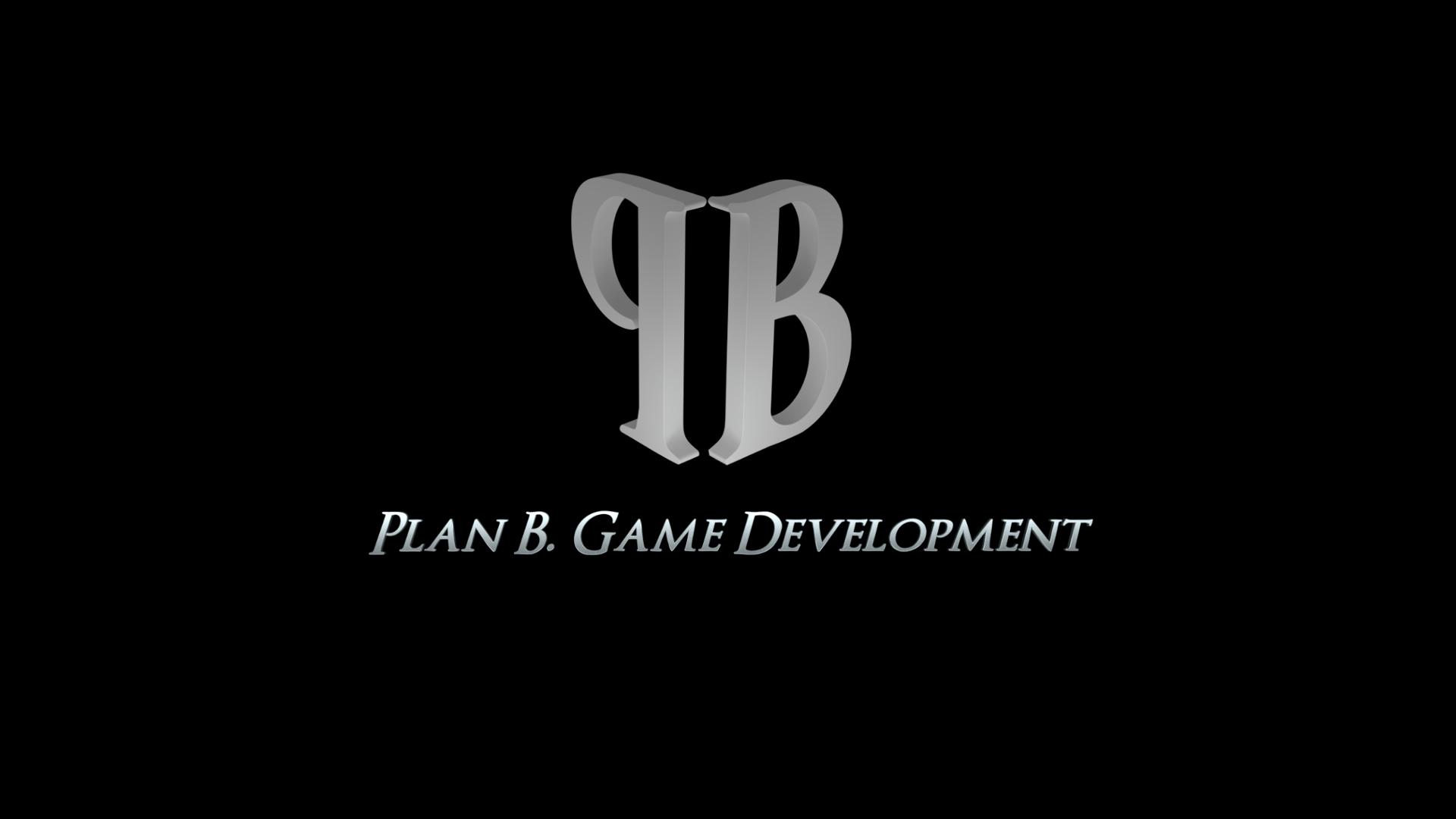 Plan B. Game Development 3D Logo