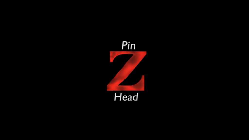 Pin Z Head 3D Logo