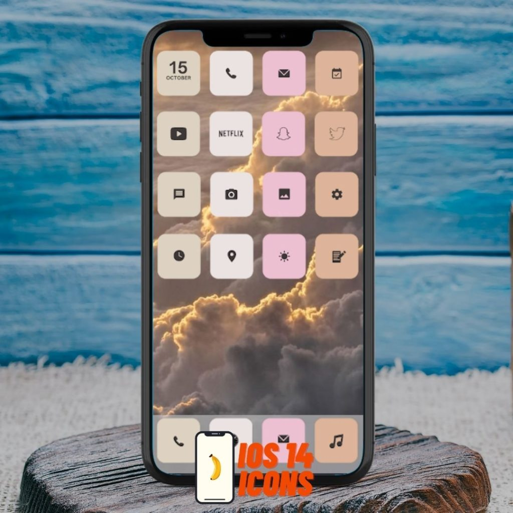 Individual iOS 14 app icons for your iPhone homescreen