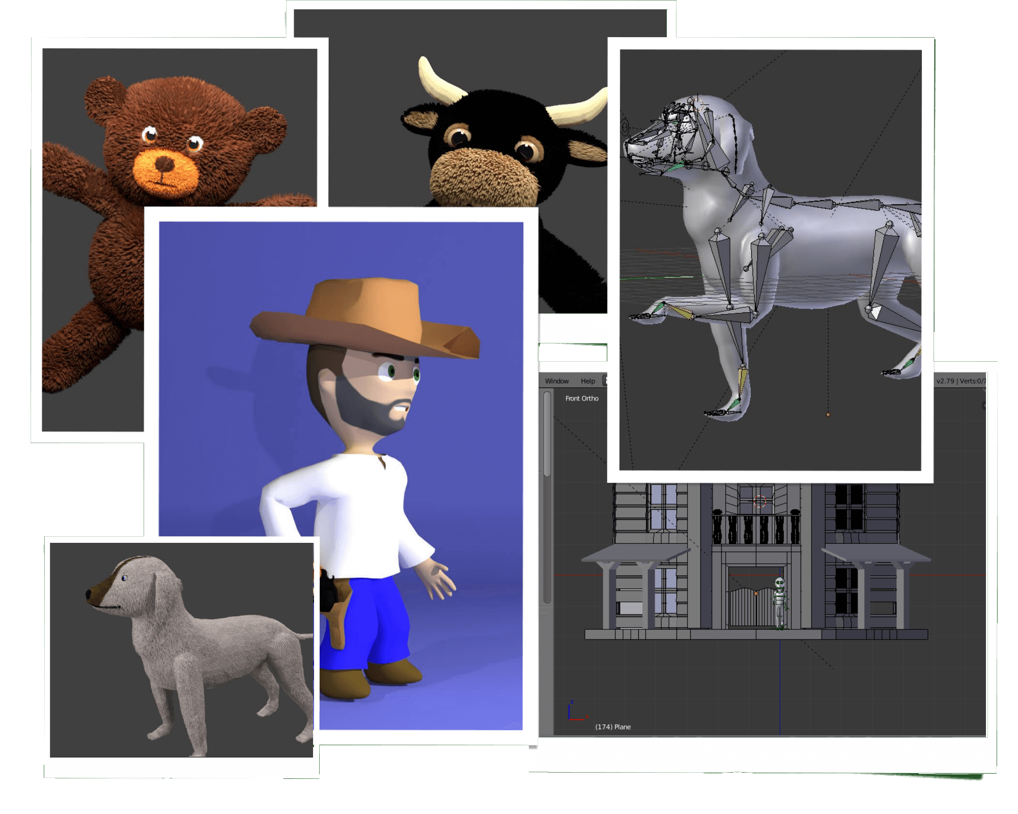 3D Collage